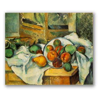 Tablecloth and Fruit