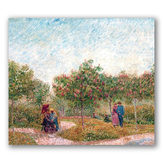 Garden with Courting Couples